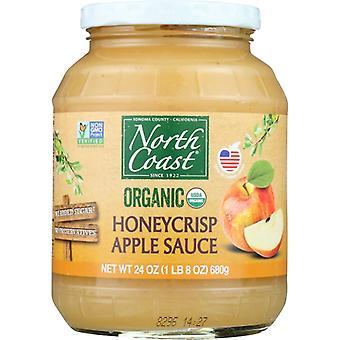 North Coast Applesauce Honey Crsp Org, sag af 6 X 24 Oz