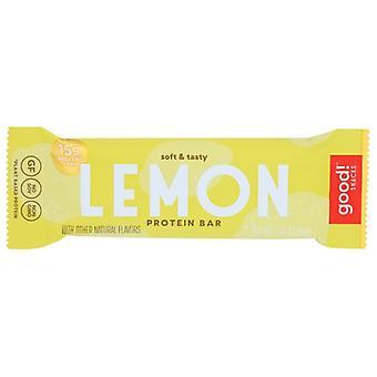 Good Snacks Bar Lemon, Case of 12 X 2.12 Oz