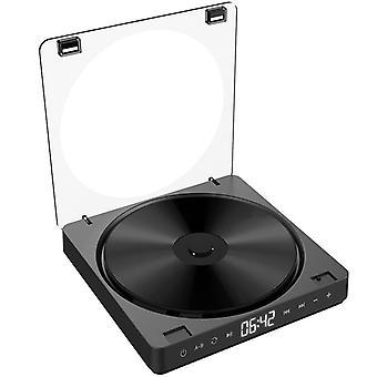 Przenośny odtwarzacz CD, wersja z podwójnymi słuchawkami, przycisk kontaktowy, płyta odtwarzana