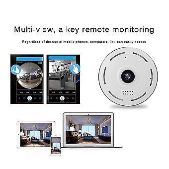 360 Degree Vr Panorama P2p Home Security Ip Camera Ir Night Vision Hd 1280p