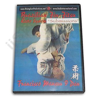 Kioto Brazilian Jiu Jitsu Submissions 1 Dvd Francisco Mansur -Vd6079A
