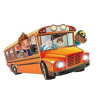 Wie zit er in de bus vroege opleiding Speelgoed Party Game