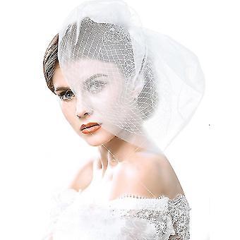 Veil Soft Net Headdress Wedding Bridal Hairpiece Veil