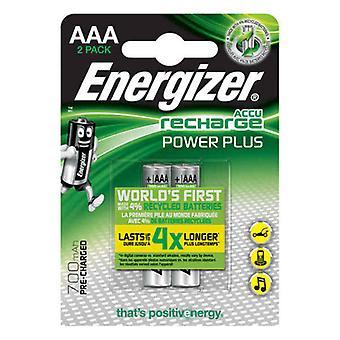 Újratölthető akkumulátorok Energizer E300626500 AAA HR03 700 mAh Multicolour