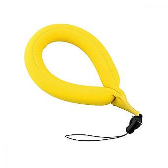 Flotteur de caméra, bracelet flottant à bulles de produit électronique pour le rafting sous-marin, jaune