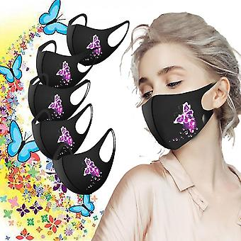 Yesfit Adult Mask Printed Mask For Protection Washable Face Mask