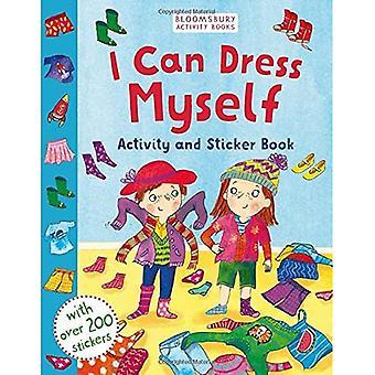 Jag kan klä mig själv: Aktivitet och klistermärke bok