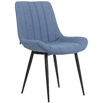 Esszimmerstuhl - Esszimmerstühle - Küchenstuhl - Esszimmerstuhl - Modern - Blau - Metall - 55 cm x 64 cm x 87 cm