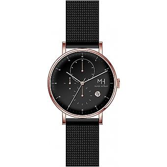 Marco Milano Black Stainless Steel MH99199G1 Men's Watch