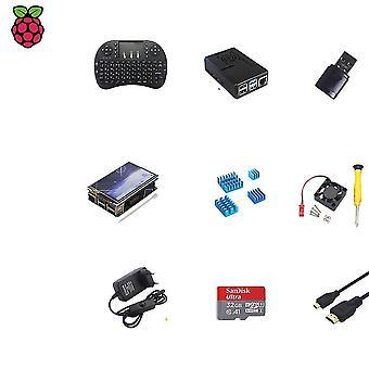 Komplettes Starter Kit, mit Touchscreen, Tastatur für Raspberry Pi 4