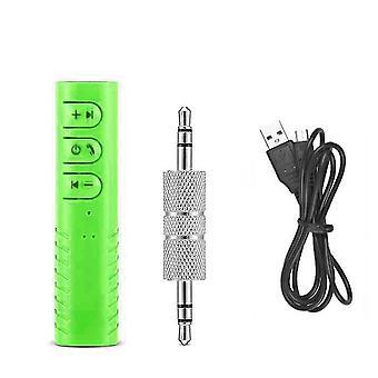 3,5 mm Klinke drahtloser Bluetooth-Empfängeradapter (Grün)