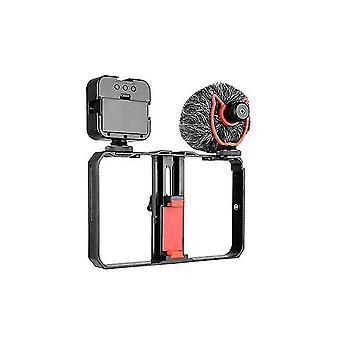 Vlogging kit telefon video kit příslušenství vyplnit lehký mikrofon stabilizátor ptz pro telefonní video