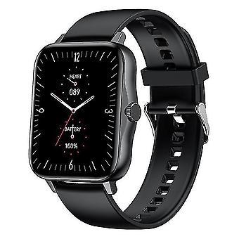 Smart klocka m5 bluetooth ring kroppstemperatur smartwatch 1.75inch mtk2502d musik spela män kvinnor