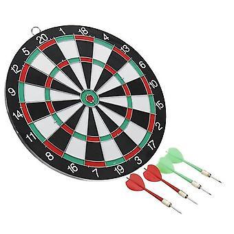 profesjonell størrelse børste dart mål med kritt bord 12 tommers dart
