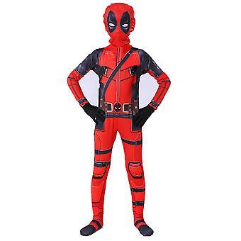 Kid Boy Deadpool Superheld Halloween Party Cosplay Kostüm Kostüm