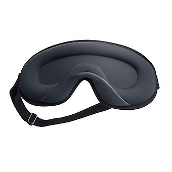3d Ice Silk Sleeping Eye Mask Travel Rest Aid Eye Mask Cover Patch Paded Soft Sleeping