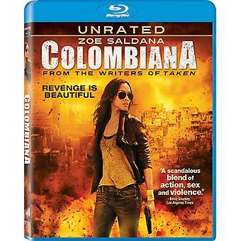 Colombiana [BLU-RAY] USA import