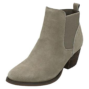 Dames down to Earth midden hak Ankle Boots F50678