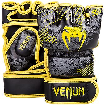 Venum Tramo Limited Edition MMA Training Gloves - Black/Yellow