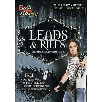 Leads & Riffs-Creative Concepts for Metal [DVD] USA import