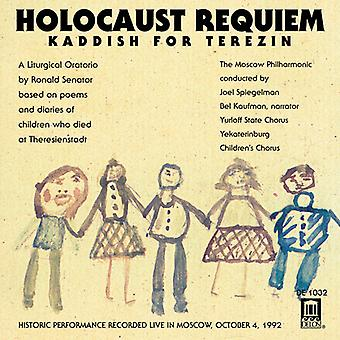 Senator/Smetana - Senator: Holocaust Requiem-Kaddish for Terezin/Smetana: The Moldau [CD] USA import