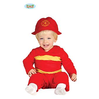 Kostuum brandweerman, brandweerman kostuum kind
