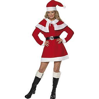 Miss Santa dress kostium Mikołaj Panie Boże Narodzenie