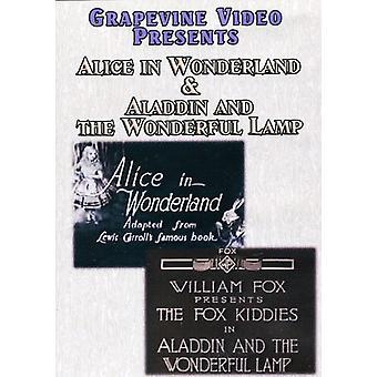 Alice au pays des merveilles (1915) / Aladdin & le merveilleux [DVD] USA import