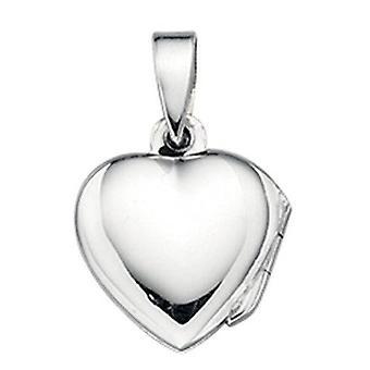 Foto van 925 zilver hart ketting