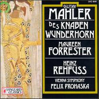 G. Mahler - Mahler: Des Knaben Wunderhorn (the Youth's Magic Horn) [CD] USA import