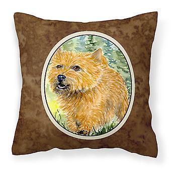 Carolines Treasures  SS8878PW1414 Norwich Terrier Decorative   Canvas Fabric Pil