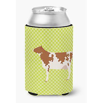 Carolines Treasures  BB7653CC Ayrshire Cow Green Can or Bottle Hugger