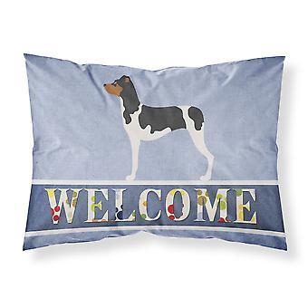 Brazilian Terrier Welcome Fabric Standard Pillowcase