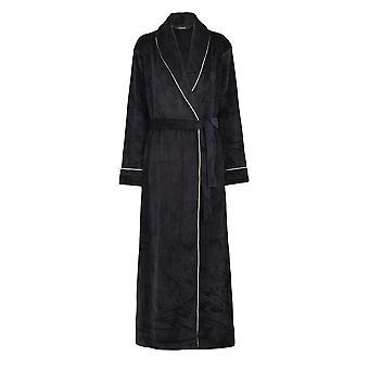 Slenderella GL8747 Women's Grey Robe Long Sleeve Dressing Gown