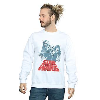 Star Wars miesten Han Solo Chewie duetto pusero
