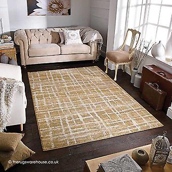 Zarah lijnen Beige tapijt