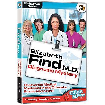 Elizabeth Find M.D. Diagnosis Mystery (PC CDMac) - Neu