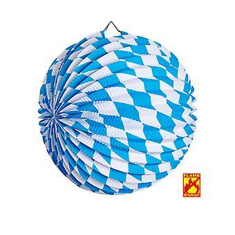 Bayerske Oktoberfest papir bold dekoration