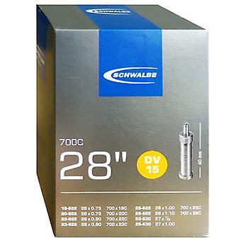 SCHWALBE DV 15 cykel tube 27/28