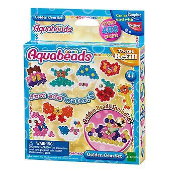 Aquabeads 31048 Golden Gem-Set, mehrfarbig