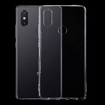 Für Xiaomi Mi 8 SE Silikoncase TPU Schutz Transparent Tasche Hülle Cover Etui Zubehör Neu