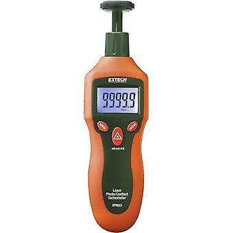 Extech RPM33 Tachometer Mechanical, Optical 2 - 19999 U/min 2 - 99999 U/min