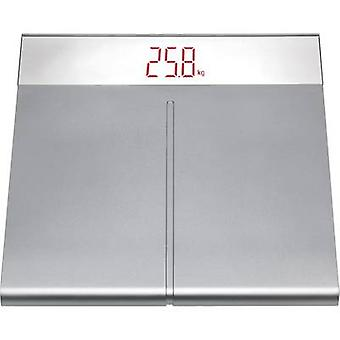 TFA Dostmann 50.1001.54 Digital bathroom scales Weight range=150 kg Silver