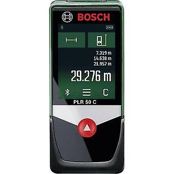 Bosch Home and Garden PLR 50 C Laser range finder Touchscreen, Bluetooth, Data logger app Reading range (max.) 50 m