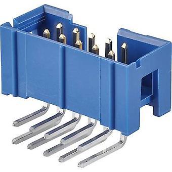 FCI-Pin Stecker Kontakt Abstand: 2,54 mm Anzahl der Pins: 14 Nr. Zeilen: 2 1 PC