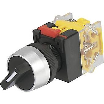TRU COMPONENTS LAS0-A3Y-20X/33 Rotary switch 250 V AC 5 A Switch postions 3 2 x 45 ° IP40 1 pc(s)