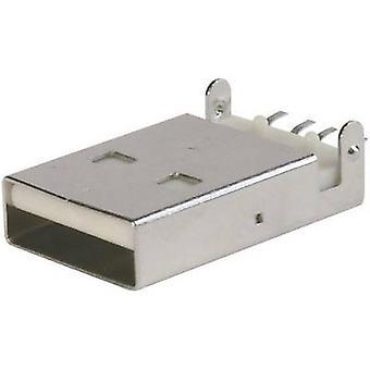 ASSMANN WSW A-USB A-LP-SMT-C Ultra Slim USB connecteur, support USB un (SMT)