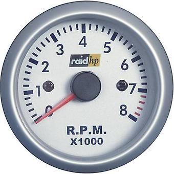 raid hp 660266Tachometer Speed 0 to 8000 rpm 12V