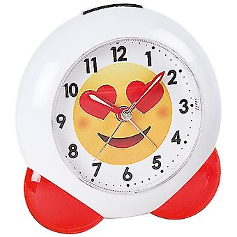 Atlanta 1918/1 alarm quartz analog for children children alarm clock white red