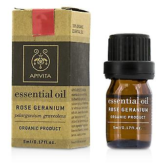 Apivita viktige olje - Rose Geranium - 5ml / 0,17 oz